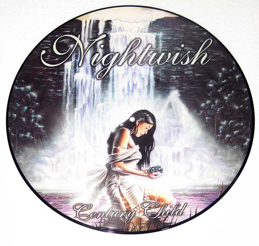 Large Hires Photo of Nightwish Picture Disc Front Side