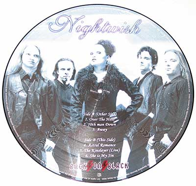 "Thumbnail of NIGHTWISH - Over The Hills And Far Away 12"" Picture Disc  album front cover"
