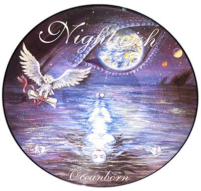 "Thumbnail of NIGHTWISH - Oceanborn 12"" Picture Disc  album front cover"