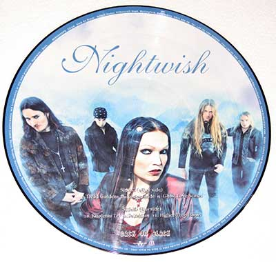 "Thumbnail of NIGHTWISH - Once 12"" Picture Disc  album front cover"