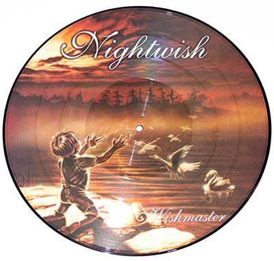 "Thumbnail of NIGHTWISH - Wishmaster 12"" Picture Disc  album front cover"