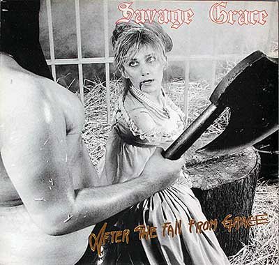 "Thumbnail of SAVAGE GRACE - After The Fall From Grace 12""Vinyl LP Album album front cover"