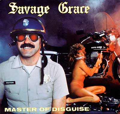 "Thumbnail of SAVAGE GRACE - Master of Disguise 12""Vinyl LP Album album front cover"