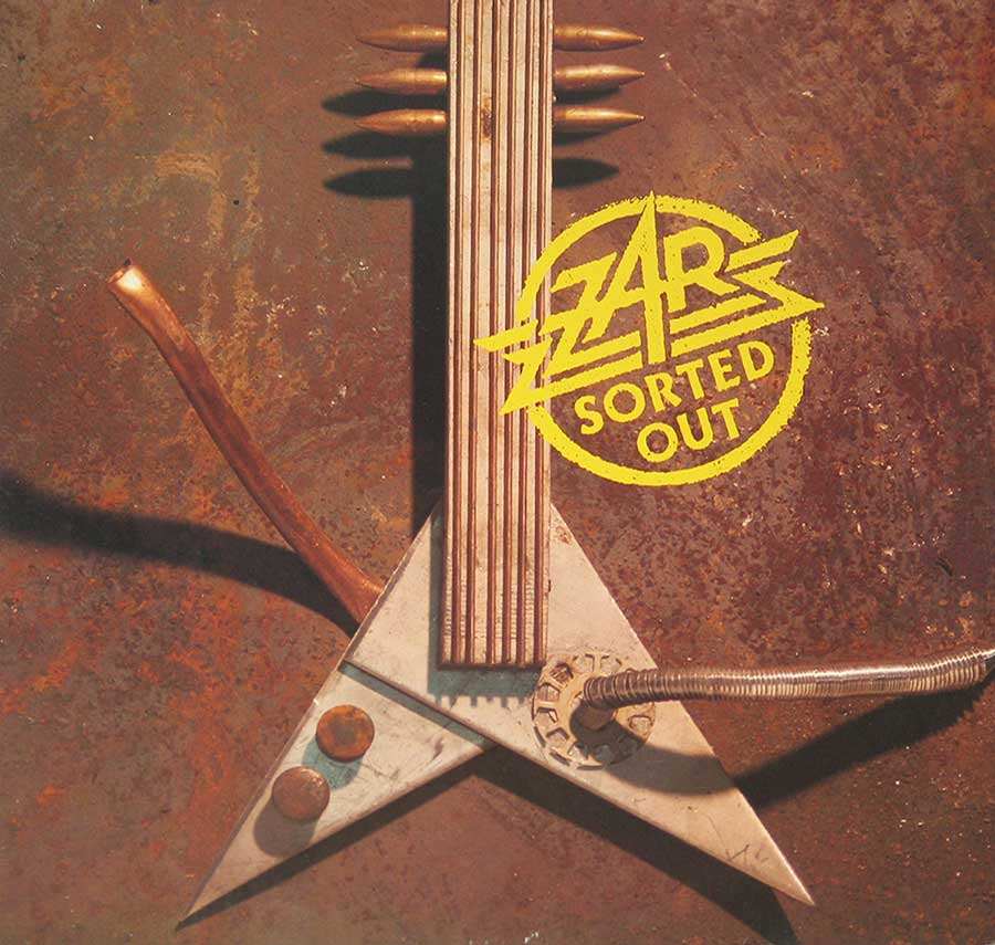 "ZAR - Sorted Out 12"" VINYL LP ALBUM album front cover"
