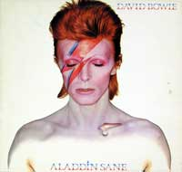"This album ""DAVID BOWIE - Aladdin Sane UK"" is the sixth album by David Bowie, released by RCA Records in 1973 . The follow-up to his breakthrough ""The Rise and Fall of Ziggy Stardust and the Spiders from Mars"", it was the first album Bowie wrote and released as a bona fide rock star."