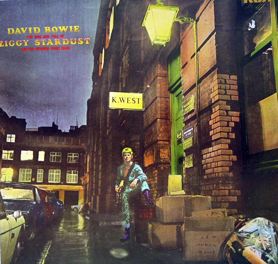 Album Front Cover Photo of DAVID BOWIE Rise and Fall of Ziggy Stardust and the Spiders from Mars