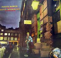 "David Bowie - Rise and Fall of Ziggy Stardust and the Spiders from Mars . ""The Rise and Fall of Ziggy Stardust"" and the Spiders from Mars (often shortened to Ziggy Stardust) is the 1972 concept album by David Bowie, praised as the definitive album of the 1970s by Melody Maker magazine."