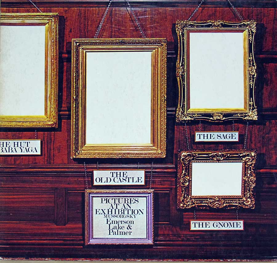 "Front Cover Photo Of Emerson Lake Palmer Pictures at an Exhibition 12"" Vinyl LP Album"
