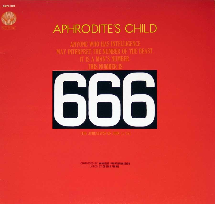 Photo of Aphrodite's Child - 666 Album's Front Cover