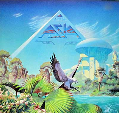 Thumbnail Of  ASIA - Alpha With Steve Howe album front cover