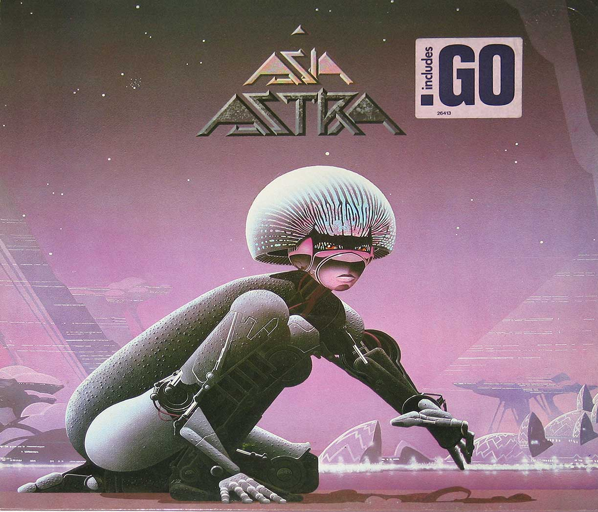 large photo of the album front cover of: ASIA - Astra