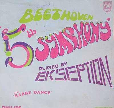 Thumbnail of EKSEPTION 5th Beethoven / Sabre Dance on the Single album front cover