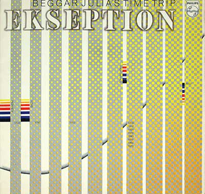 Thumbnail of EKSEPTION - Beggar Julia's Time Trip album front cover