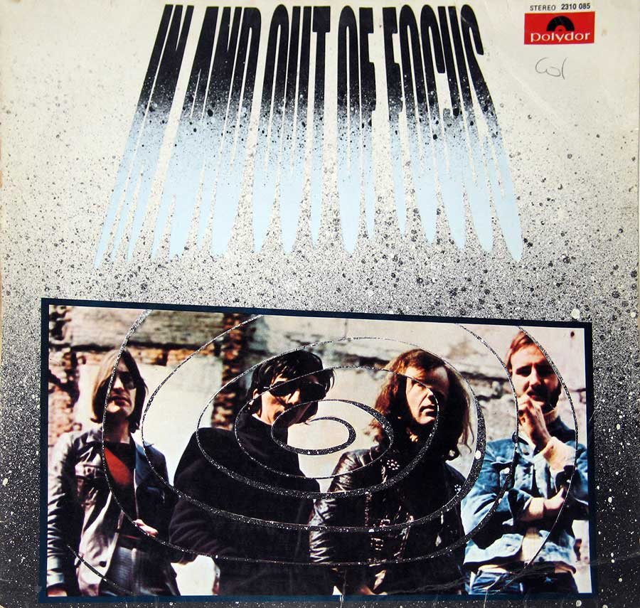 "FOCUS - In And Out Of Focus 12"" VINYL LP ALBUM front cover https://vinyl-records.nl"