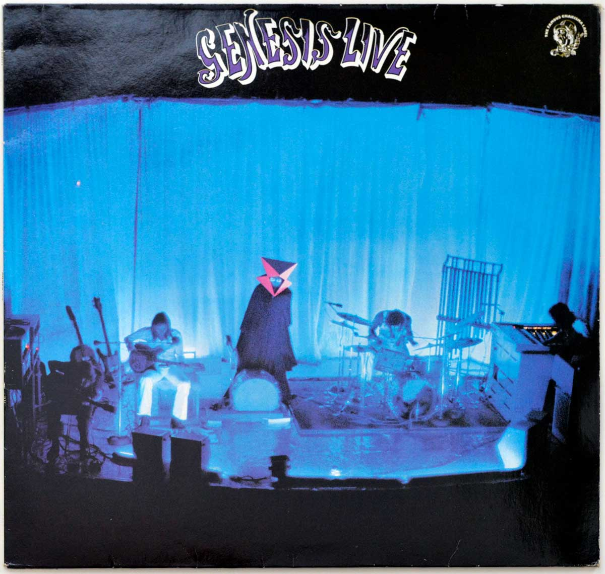 Front Cover Photo Of GENESIS - Live ( 1973 )
