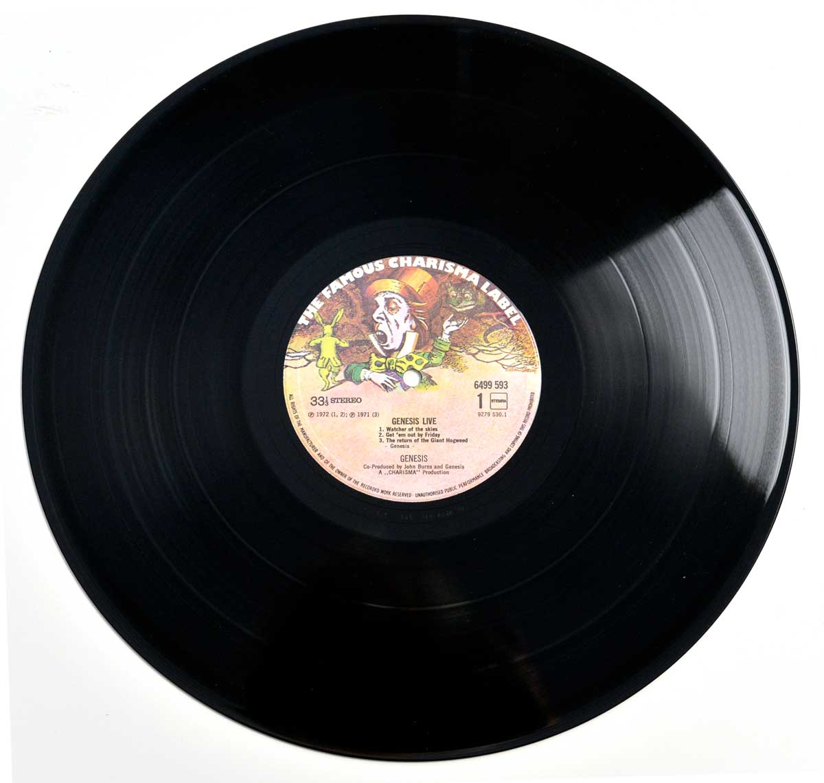 Photo of Side One GENESIS - Live ( 1973 )