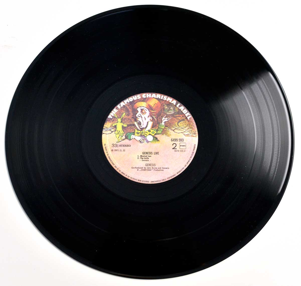 Photo of Side Two GENESIS - Live ( 1973 )