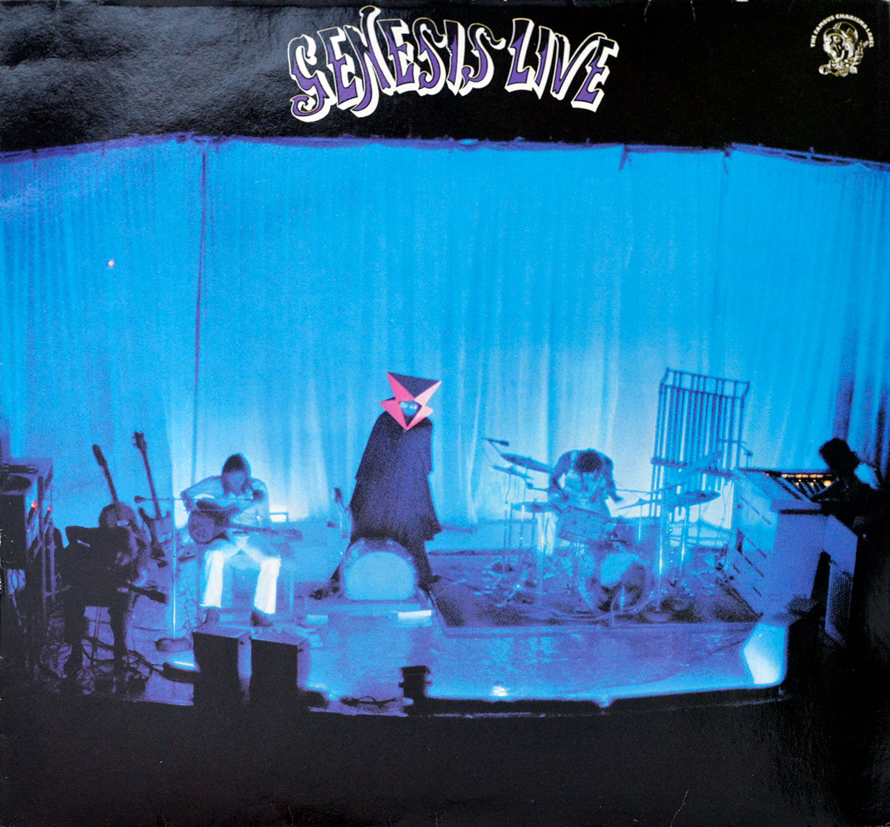 Album Front Cover Photo of GENESIS - Live ( 1973 )