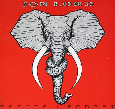 "Thumbnail of JON LORD - Before I Forget Orig Elephant 12"" LP Vinyl Album album front cover"