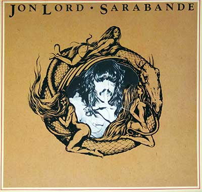 "Thumbnail of JON LORD - Sarabande Hörzu Die-Cut Sexy Cover 12"" LP Vinyl Album album front cover"