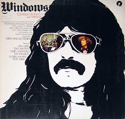 "Thumbnail of JON LORD - Windows Continuo on Bach 12"" LP Vinyl Album album front cover"