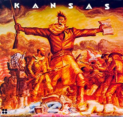 "Thumbnail of KANSAS - Self-Titled 12"" Vinyl LP Album album front cover"