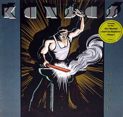 "Thumbnail of KANSAS - Power 12"" Vinyl LP Album album front cover"