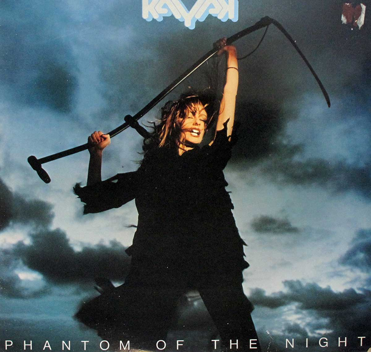 "Front Cover Photo of ""KAYAK - Phantom of the Night"" Album"