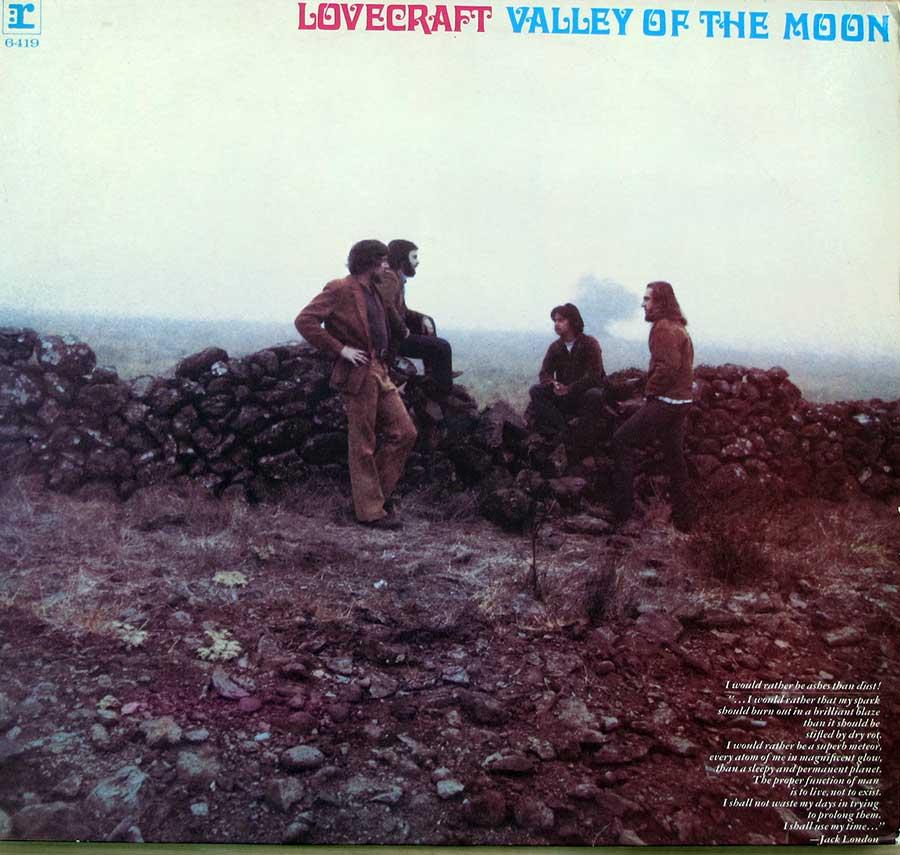 "LOVECRAFT - Valley Of The Moon Orig Reprise RS 6419 12"" LP Vinyl Album front cover https://vinyl-records.nl"