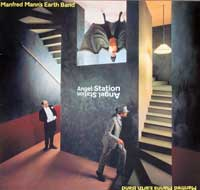 MANFRED MANN'S EARTH BAND - Angel Station Lyrics sheet and fold open poster