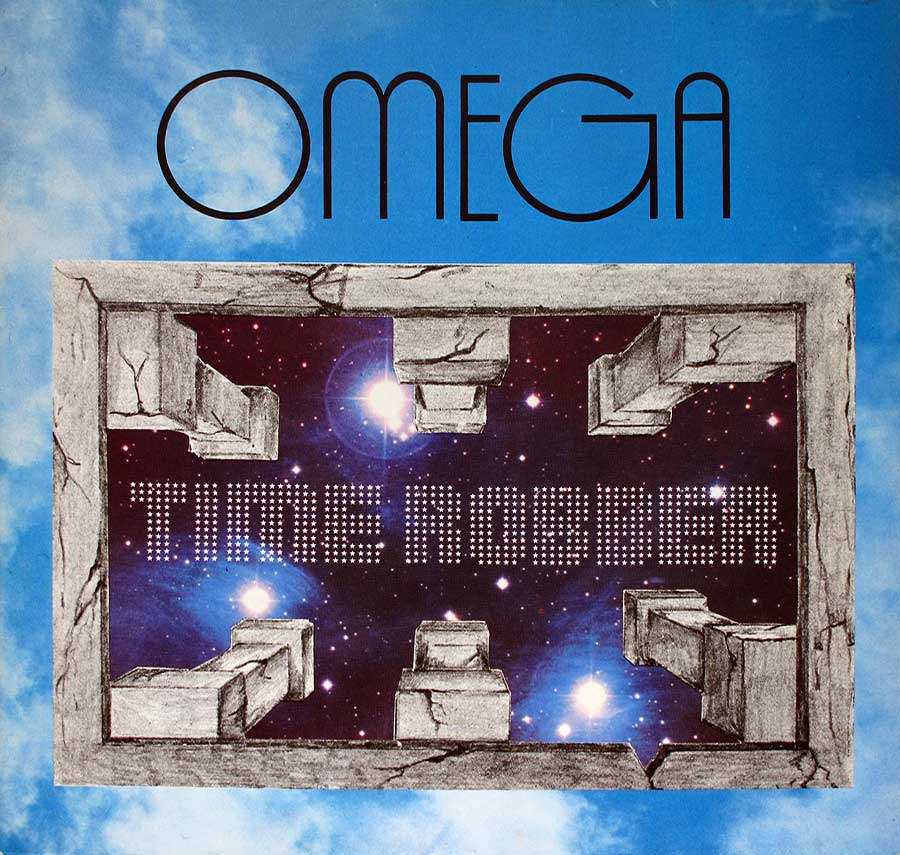 "OMEGA - Time Robber Hungary Prog Rock 12"" VINYL LP ALBUM  front cover https://vinyl-records.nl"