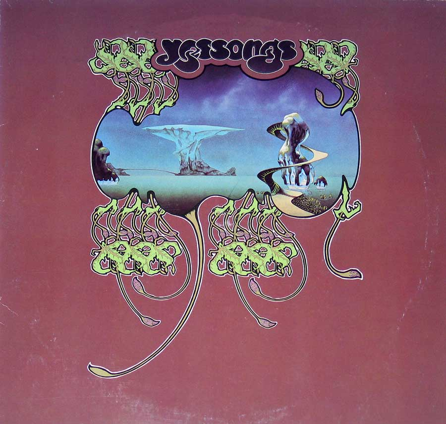 large photo of the album front cover of: YES - Yessongs