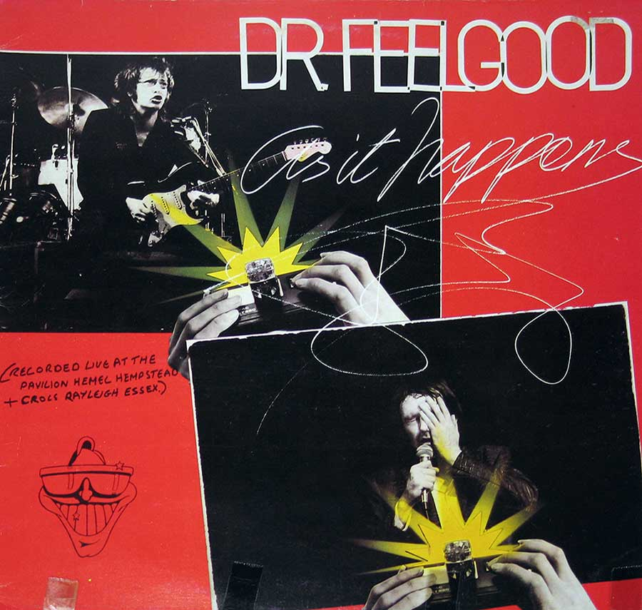 Front Cover Photo Of DR FEELGOOD - As It Happens Live