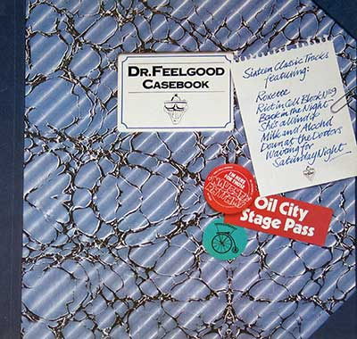 "Thumbnail of DR FEELGOOD - Casebook with Nick Lowe 12"" Vinyl LP Album album front cover"