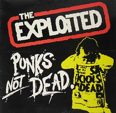 "Thumbnail of THE EXPLOITED - Punks Not Dead - LINK Records 12"" Vinyl Album  album front cover"