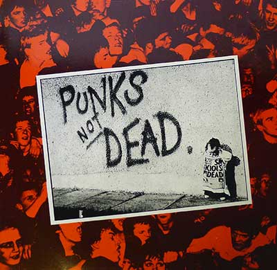 "Thumbnail of THE EXPLOITED - Punks Not Dead - RoadrunneR Records 12"" Vinyl Album  album front cover"