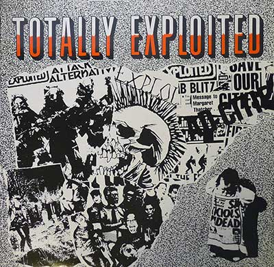 "Thumbnail of THE EXPLOITED - Totally Exploited 12"" Vinyl Album  album front cover"