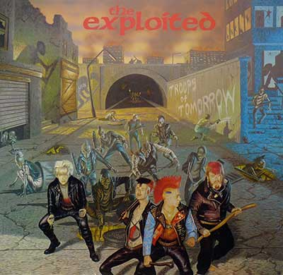 "Thumbnail of THE EXPLOITED - Troops of Tomorrow 12"" Vinyl Album  album front cover"