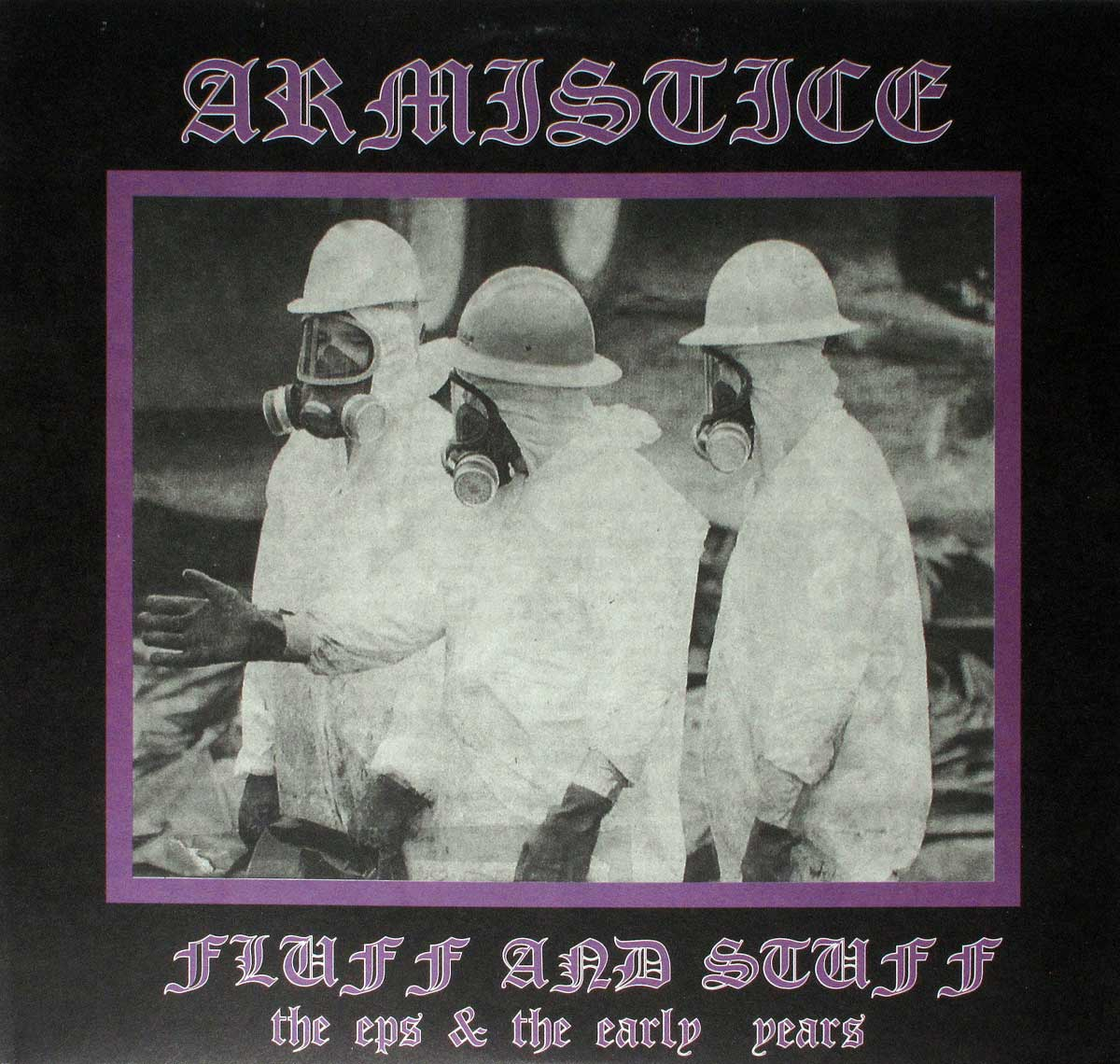 large photo of the album front cover of: RMISTICE FLUFF AND STUFF