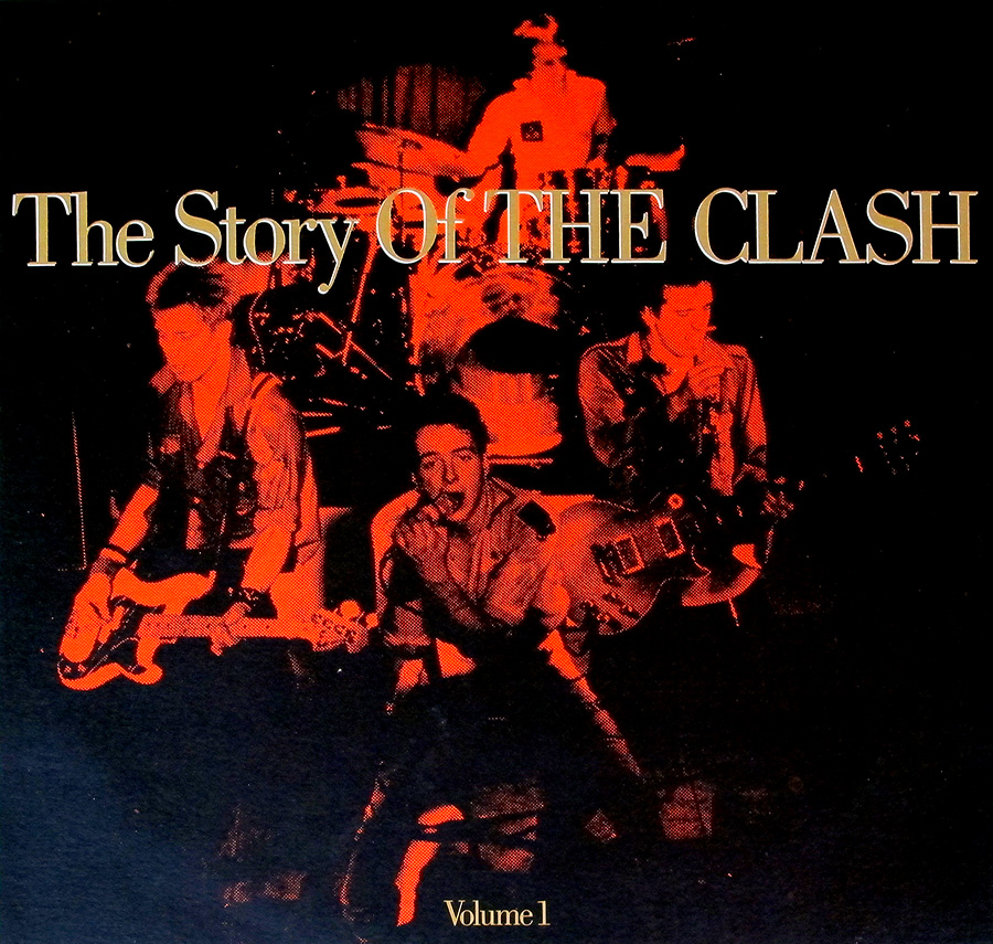 "Front Cover Photo Of THE CLASH - Story Of The Clash Volume 1 12"" Vinyl LP Album"