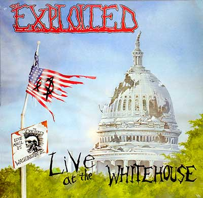 "Thumbnail of THE EXPLOITED - Live At The Whitehouse 12"" Vinyl Album  album front cover"