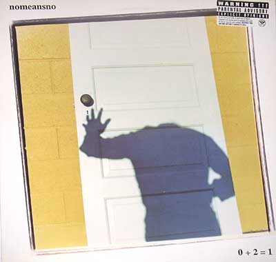 Thumbnail Of  NOMEANSNO - 0 + 2 = 1 album front cover