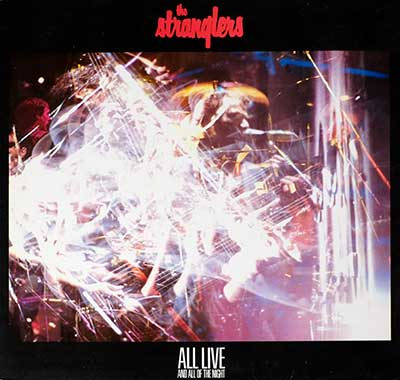 Thumbnail Of  THE STRANGLERS - All Live And All Of The Night album front cover