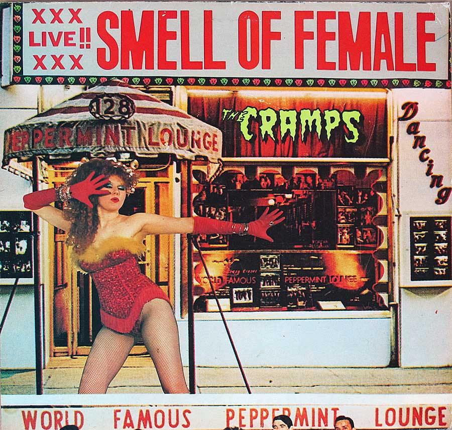 "CRAMPS - Smell Of Female Big Beat 45RPM 12"" LP VINYL ALBUM  front cover https://vinyl-records.nl"