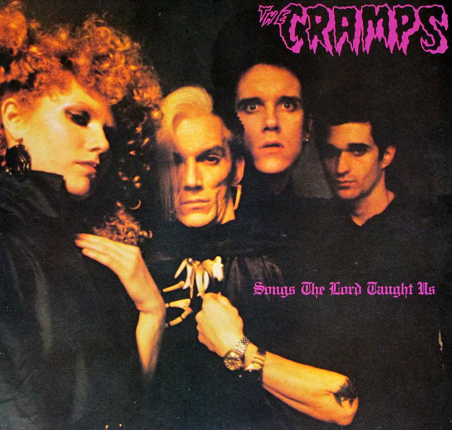 "THE CRAMPS - Songs The Lords Taught Us Illegal ILP 005 12"" Vinyl LP Album   front cover https://vinyl-records.nl"