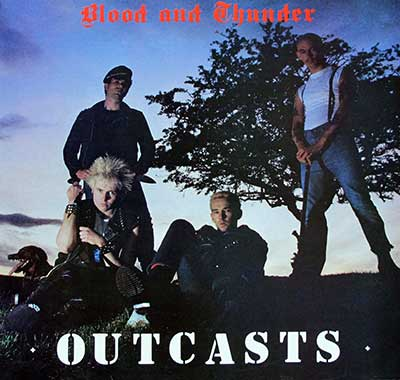 Thumbnail of THE OUTCASTS - Blood Thunder album front cover