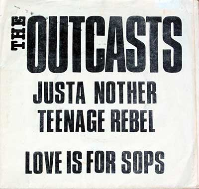 Thumbnail of THE OUTCASTS - Justa Nother Teenage Rebel album front cover