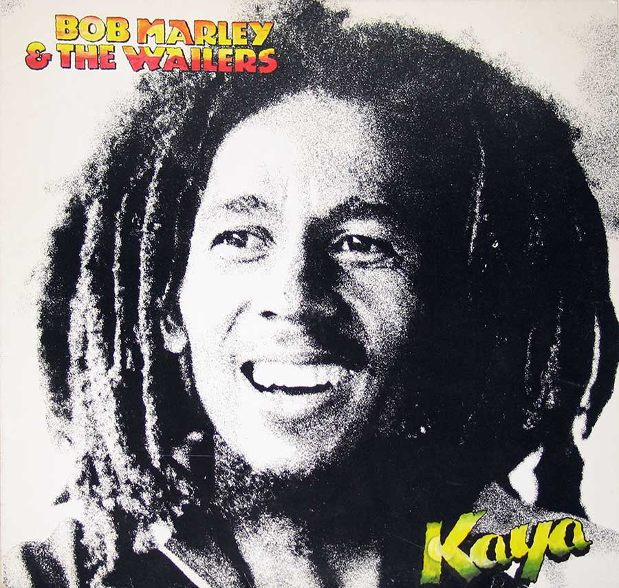 Front Cover Photo Of BOB MARLEY - Kaya ( Switzerland Release )