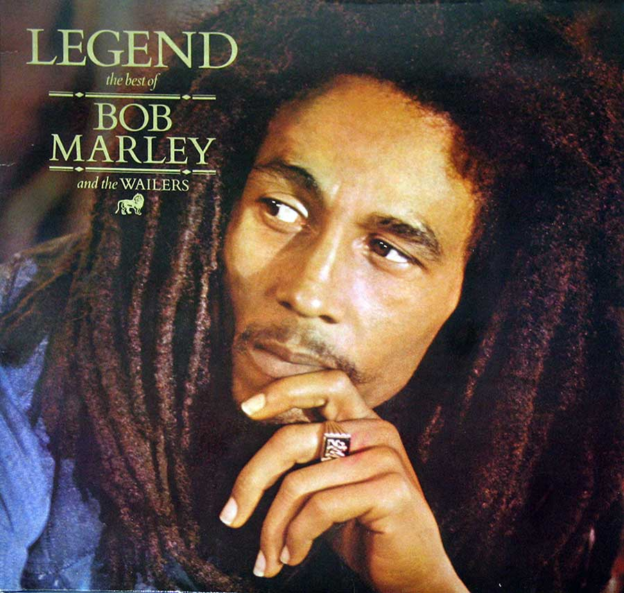 "BOB MARLEY - Legend Best Of Bob Marley And The Wailers ( EEC Release ) 12"" Vinyl LP Album   front cover"