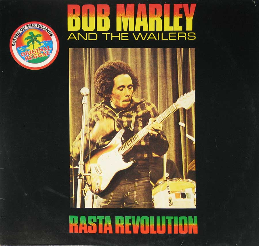 "BOB MARLEY & THE WAILERS - Rasta Revolution 12"" Vinyl LP Album  front cover"